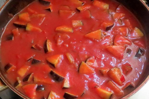Kochen: Hackfleischbällchen in Gemüsesauce - Rezept - Bild Nr. 18