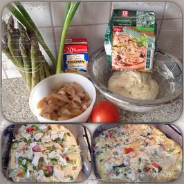 Rezept: Chicken-Holly-Pizza