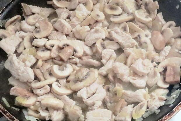 Kochen: Putengeschnetzeltes in Sahnesauce - Rezept - Bild Nr. 8