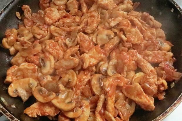 Kochen: Putengeschnetzeltes in Sahnesauce - Rezept - Bild Nr. 9