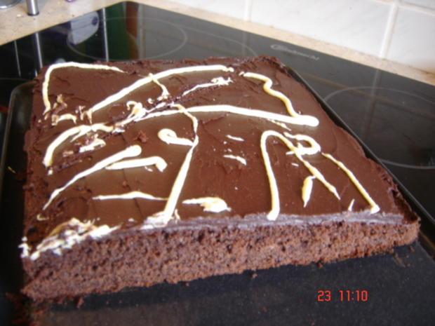 Schokoladenschnitten, extra fein - Rezept - Bild Nr. 3