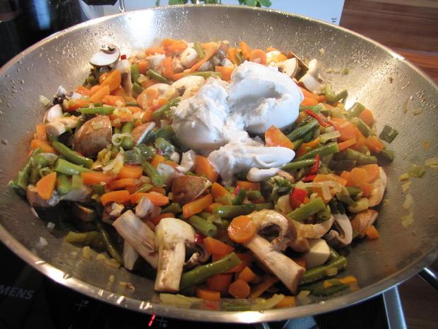 Thai Curry hot & spicy mit rotem Reis und Hähnchen - Rezept - Bild Nr. 22