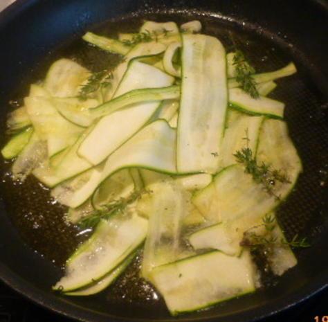 Zander mit Tomaten-Oliven-Ragout und Zucchini-Pappardelle - Rezept - Bild Nr. 28