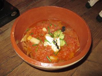 Rezept: Sopa de Tortilla