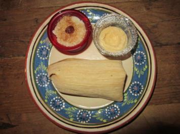 Trio Mexicano (Milchreis, Flan Napolitano, Tamal dulce) - Rezept - Bild Nr. 51