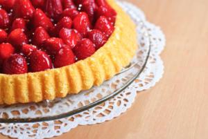 Erdbeertörtchen, Minzerdbeeren, Erdbeeren in Schokolade & Erdbeer-Frühlingsrollen - Rezept - Bild Nr. 47