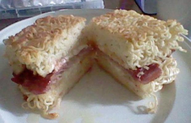 Gegrilltes Ramen Sandwich !  - Rezept - Bild Nr. 47