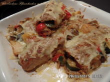 Überbackene Pfannkuchen mit Ratatouille - Rezept - Bild Nr. 49