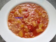 Kochen: Zucchini-Tomaten-Suppe - Rezept - Bild Nr. 51