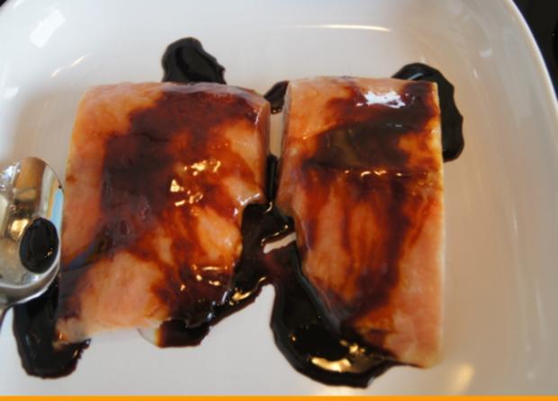 Lachsfilet mit Rahm-Spinat und Curry-Kartoffelpilzen - Rezept - Bild Nr. 55