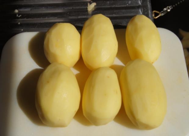 Lachsfilet mit Rahm-Spinat und Curry-Kartoffelpilzen - Rezept - Bild Nr. 62