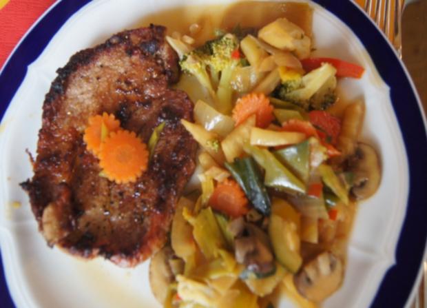 Gemüsewok mit Steak - Rezept - Bild Nr. 63