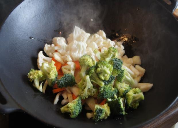 Gemüsewok mit Steak - Rezept - Bild Nr. 69