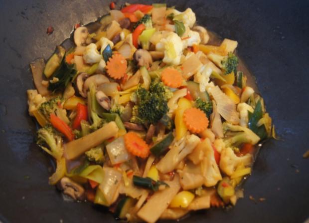 Gemüsewok mit Steak - Rezept - Bild Nr. 73