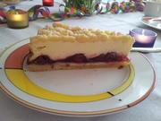 Käse-Streuselkuchen mit Kirschkompott - Rezept - Bild Nr. 94