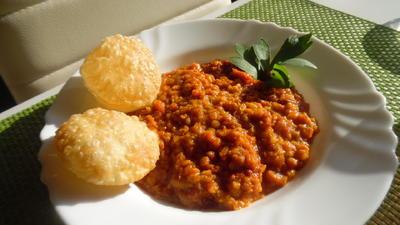 Rezept: Curry aus roten Linsen (Masoor Dhal)
