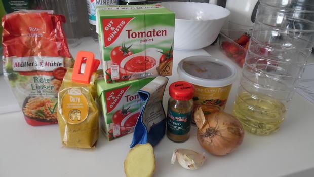 Curry aus roten Linsen (Masoor Dhal) - Rezept - Bild Nr. 105