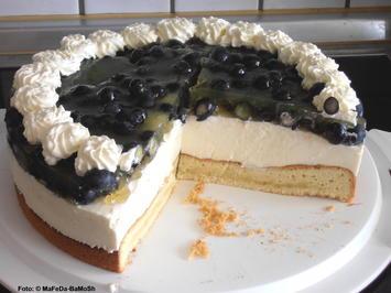 Heidelbeer-Quark-Sahne-Torte - Rezept - Bild Nr. 120
