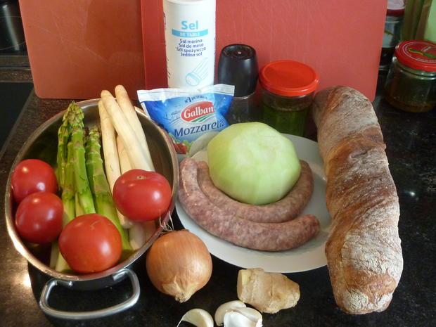 Klare  Spargel Suppe - Rezept - Bild Nr. 127
