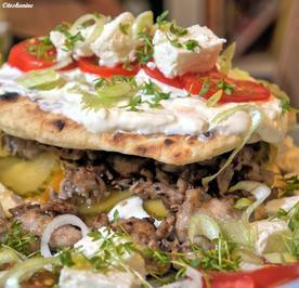Naan-Burger mit Curry-Chicken - Rezept - Bild Nr. 188