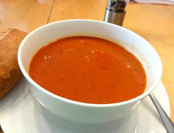 Suppe:   TOMATENSUPPE pikant - Rezept - Bild Nr. 183