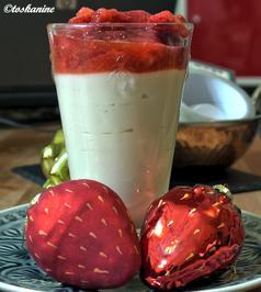 Erdnusspudding mit marinierten Erdbeeren - Rezept - Bild Nr. 232