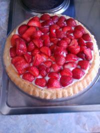 Erdbeer Pudding Torte - Rezept - Bild Nr. 199