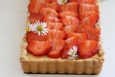 Erdbeertarte mit Holunderblütensirup - Rezept - Bild Nr. 199