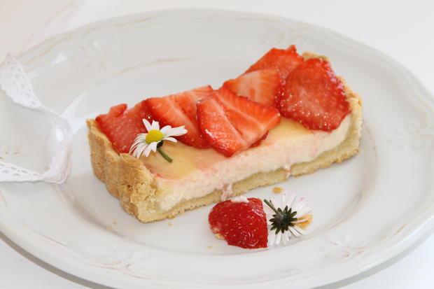 Erdbeertarte mit Holunderblütensirup - Rezept - Bild Nr. 200