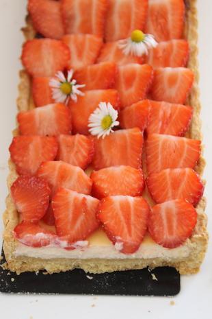 Erdbeertarte mit Holunderblütensirup - Rezept - Bild Nr. 201