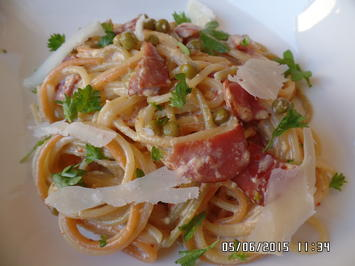 Rezept: Scharfe Spaghetti Carbonara