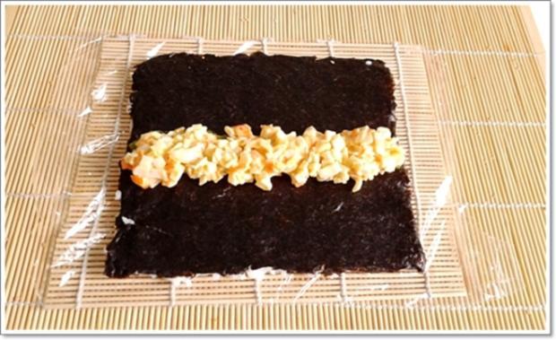 Sushi: California Rolls -  selber machen - Rezept - Bild Nr. 244