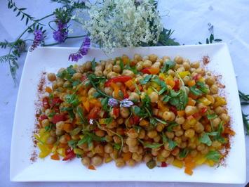 Kichererbsen  Salat - Rezept - Bild Nr. 224