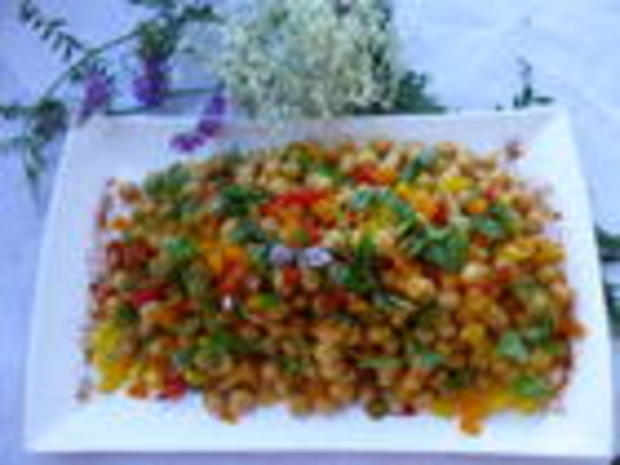 Kichererbsen  Salat - Rezept - Bild Nr. 225