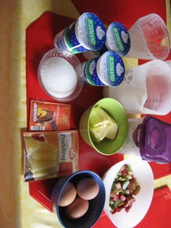 Rhabarberkuchen mit Schmand - Rezept - Bild Nr. 236
