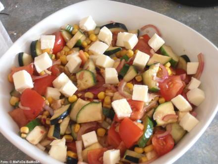 Bunter Tomatensalat - Rezept - Bild Nr. 284