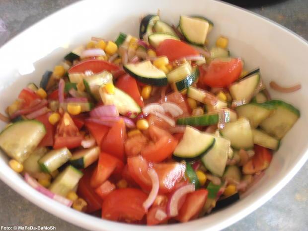 Bunter Tomatensalat - Rezept - Bild Nr. 285