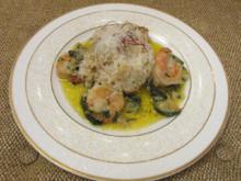Weißweinrisotto mit Zucchini und Gambas - Rezept - Bild Nr. 325