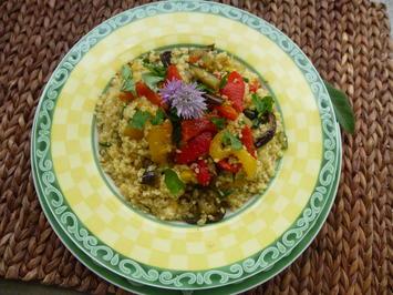 Rezept: Couscous mit Gemuese