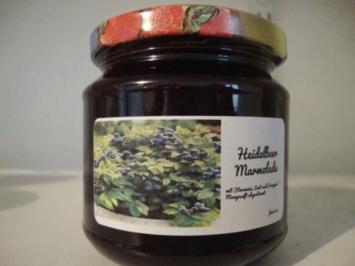 Rezept: Heidelbeermarmelade, abgestimmt mit Sternanis und Zimt