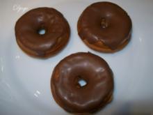 Donut mit Schokolasur - Rezept
