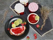Erdbeer-Limetten-Marmelade - Rezept - Bild Nr. 367