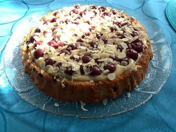 Kirschli Mandelkuchen Rezept Mit Bild Kochbar De