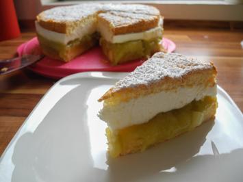 Kuchen: Torte Rhabarber-Joghurt - Rezept - Bild Nr. 451