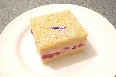 Backen: Erdbeer-Sahne-Schnitten - Rezept - Bild Nr. 463