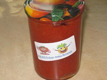 Erdbeer-Ananas-Marmelade - Rezept - Bild Nr. 476