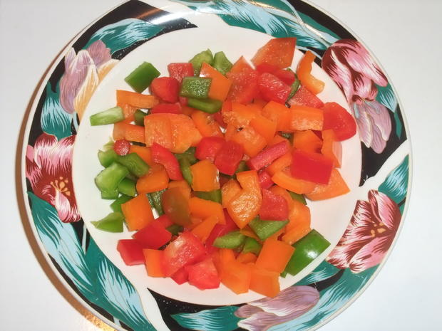 Überbackenes Gemüsehackfleisch - Rezept - Bild Nr. 501