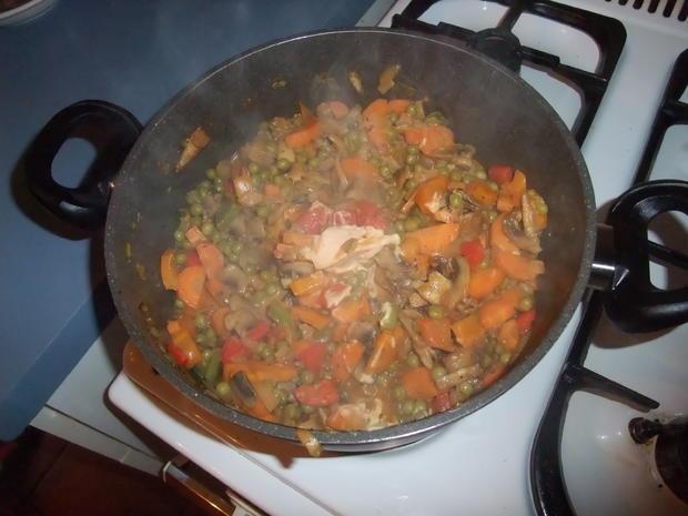 Überbackenes Gemüsehackfleisch - Rezept - Bild Nr. 513