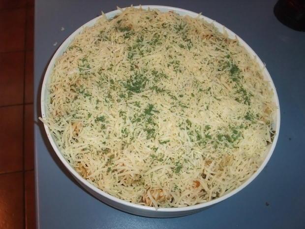Überbackenes Gemüsehackfleisch - Rezept - Bild Nr. 516