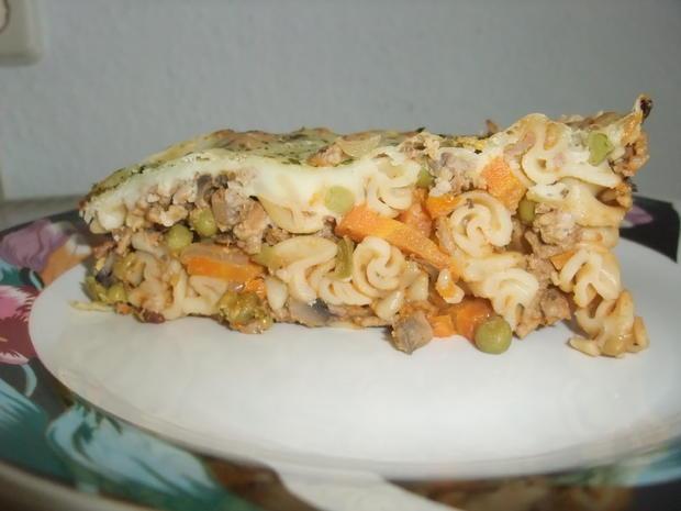 Überbackenes Gemüsehackfleisch - Rezept - Bild Nr. 519